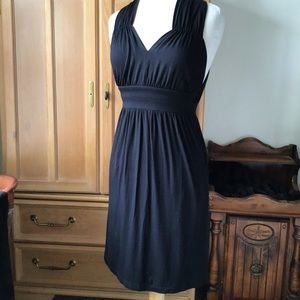 BARNEY'S SLEEVELESS BLACK DRESS